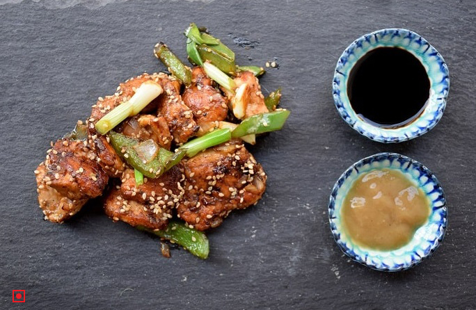 Fried Chinese Chilly Chicken Strips