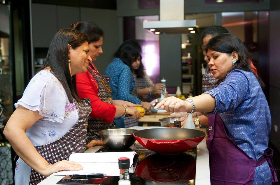 Cooking class named The Journey